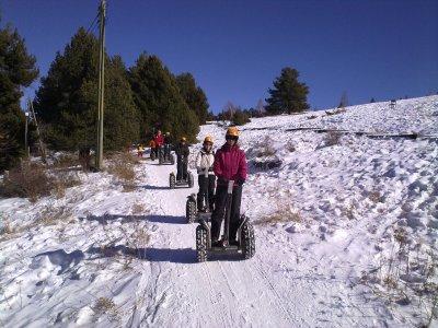 Snow Segway Route in La Molina 15 min