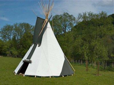 Wye Tipi Camping and Canoeing Kayaking
