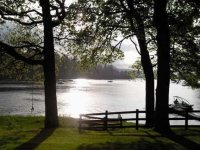 Relax by the lakeside after your session