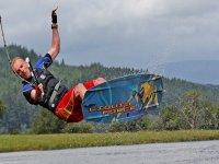 Wakeboarding jump stunts