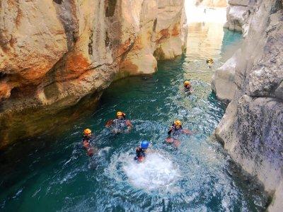 La Higuera Canyoning and accommodation in Cieza