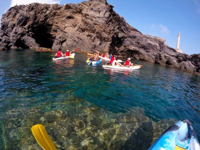1h 30 min Kayak tour in Cabo de Palos