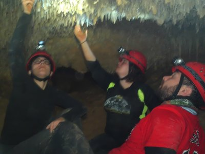 3h spelunking initiation trip in Fortuna