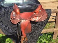 A beautiful saddle!