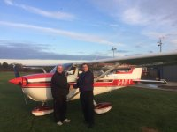The staff of Phoenix Flying School