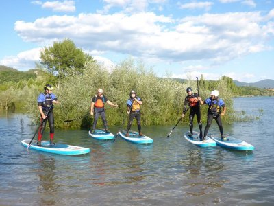 Paddle Surf for Adults in Lake Mediano