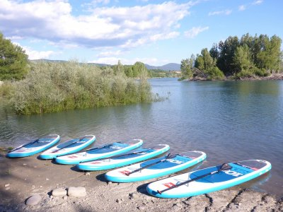 2h Paddle Surfing Kids Lake Mediano