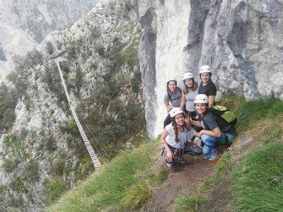 4h Via Ferrata K3 difficulty Picos de Europa