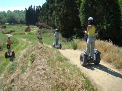 30 min segway tour in Montgrí Natural Park