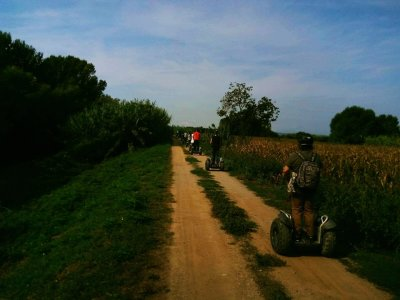Segway Tour with views to Mirador del Empordá 1h