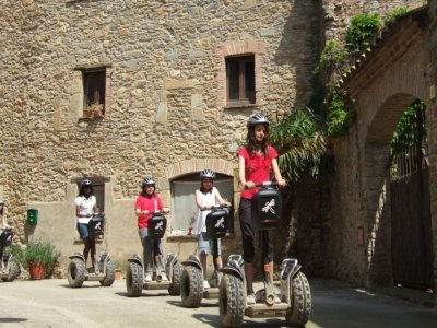 Medieval tour on Segway Pals and Peratallada 2h