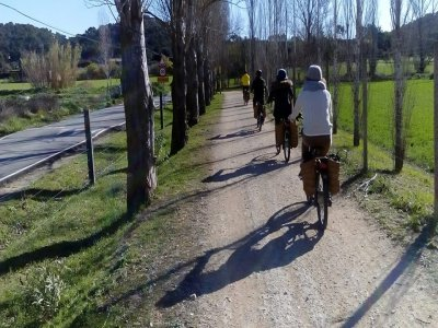 Rural e-bike tour adult medieval towns Gualta