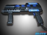 A laser gun.