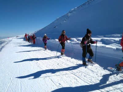 Snowshoes tour in Sierra Nevada