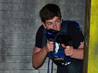 Laser tag student nights in Nottingham.