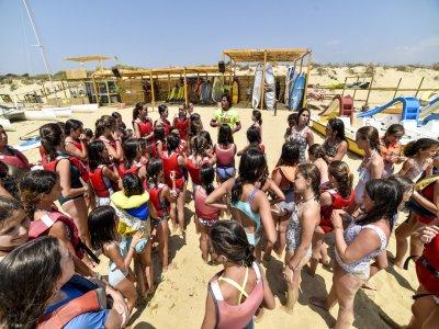 Nautical Camp for school children in Huelva 5 days