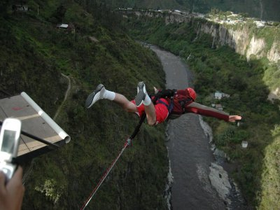 3 bungee jumps in Puente del Hierro, Seville