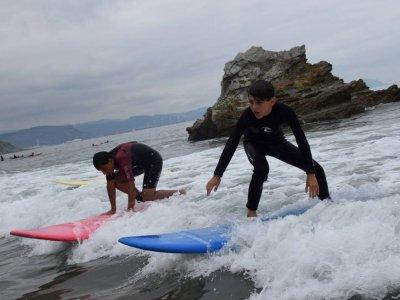 Pinpoil Ocio Campamentos de Surf