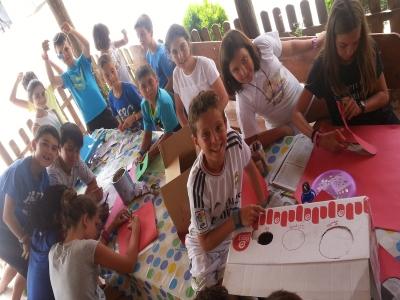 Summer Farm School Camp San Torcuato
