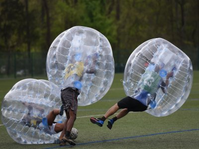 Bubble-soccer in Ciempozuelos 45 min