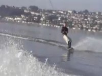 A sunny wakeboarding day