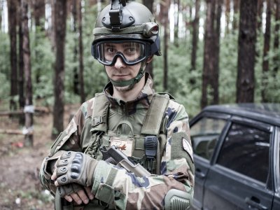 Airsoft game bachelor/ette party Madrid