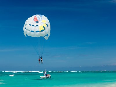 Parasailing and Boat Ride Tabarca Island 2 people