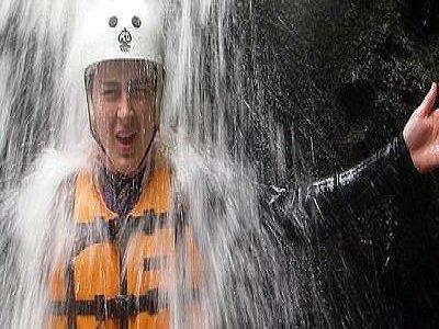 White Water Tubing UK Canyoning