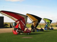 Gliding at East Of Scotland Microlights