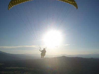 Paragliding with Parapente Paragliding
