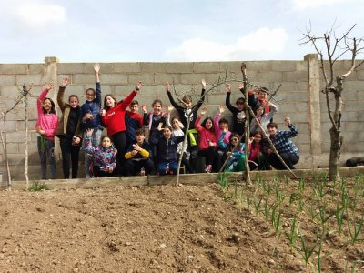 San Torcuato adventure camp during Easter