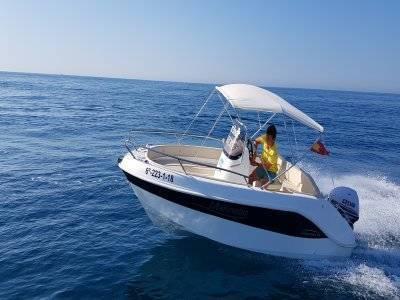 Boat rental 4h Alicante, Torrevieja or Sta. Pola