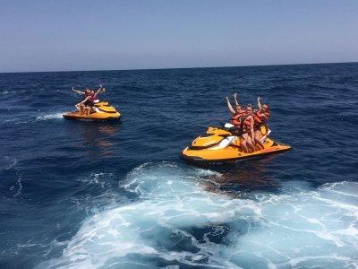 30 min jet ski tour in Cabo Roig