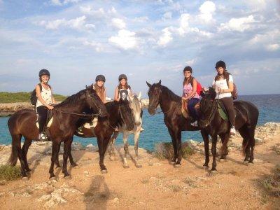 Horse riding Camí de Cavalls 1 hour