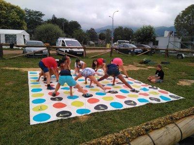 Multiadventure camp family children Asturias