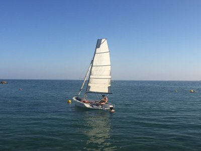 Sailing course Alicante 1 week July and August