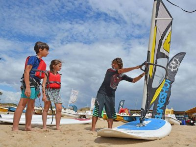 Nautical and multi-adventure camp children in July