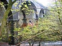 Abseiling off Millersdale Bridge