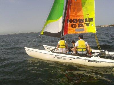 Introd.Catamaran Sailing course 10h Isla Cristina