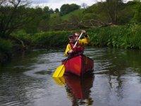 Enjoying a day of paddling