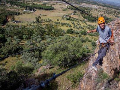 Via Ferrata El Morante for beginners Calañas 3 h