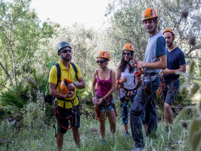 Via Ferrata Calañas Full Day for beginners