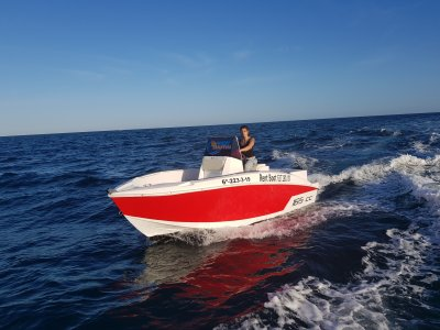 Compass boat rental no license in Santa Pola 8h