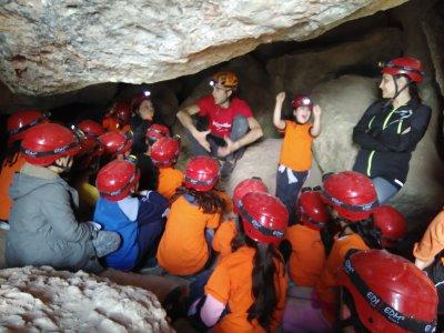 Orienteering and spelunking circuit Montserrat