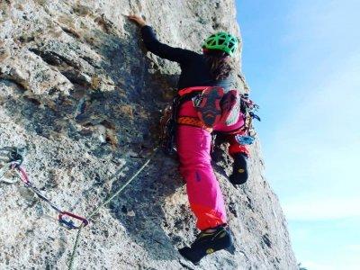 Climbing baptism for beginners in Montserrat 5h