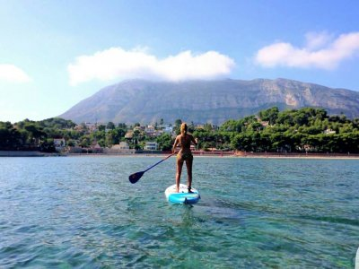 Paddle Surfing tour in Dénia 1h 30 min