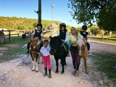 Children's birthday and pony riding in Bunyola