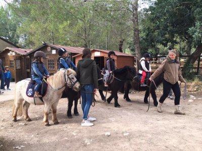 Pony ride in Club de la Herradura in Buñola 1h