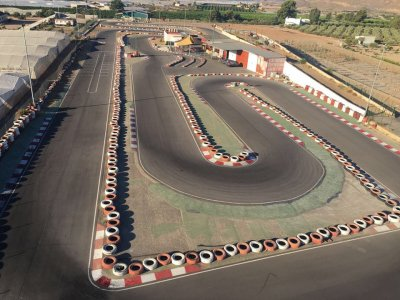Karting race with warm up classification Águilas
