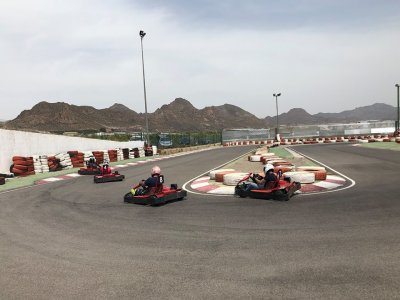 Kart laps for children in Águilas for 8 minutes